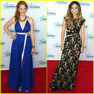 Katie Leclerc & Jessica Sanchez Walk The Starkey Hearing Foundation's Red Carpet 'So The World May Hear'