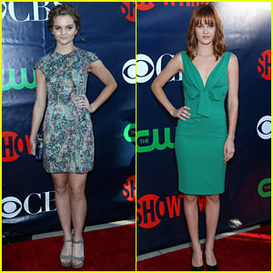 Kerris Dorsey & Ambyr Childers Rep 'Ray Donovan' at TCA Party!