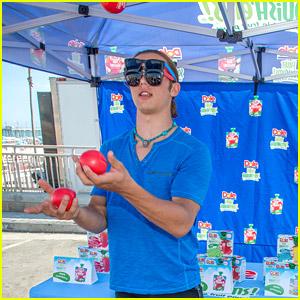 Leo Howard's Secret Talent: Apple Juggler!