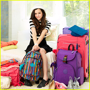 Megan Nicole is Featured in Fun Video for the New #Back2Kipling Campaign! (Exclusive)