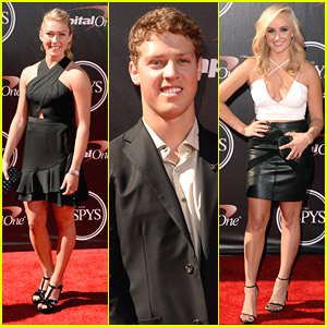 Olympians Mikaela Shiffrin & Joss Christensen Leave The Gold Medals At Home For The ESPYs 2014