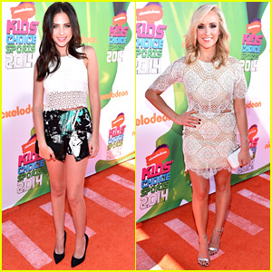 Ryan Newman & Nastia Liukin Bring The Hotness To Kids' Choice Sports Awards 2014!