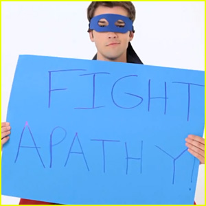Nathan Kress is an Apathy-Fighting Superhero for DoSomething.Org's 'The Hunt' Campaign (Video)