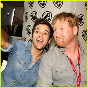 Nathan Kress Goes 'Into The Storm' at Comic-Con 2014