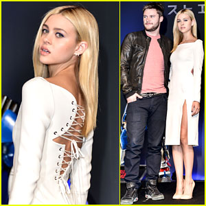 Nicola Peltz & Jack Reynor Make Final 'Transformers' Tour Stop