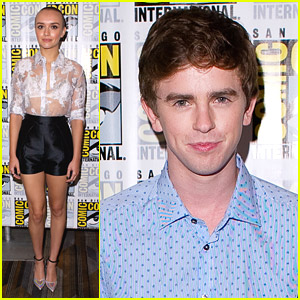 'Bates Motel' Actress Olivia Cooke Shaved Her Head! See The Pics!
