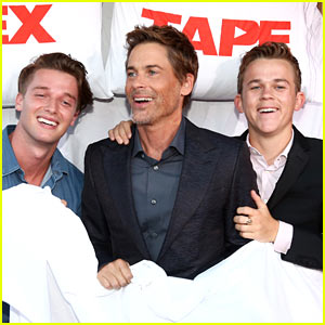 Patrick Schwarzenegger Goes to Bed at 'Sex Tape' Premiere!