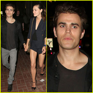 Paul Wesley & Phoebe Tonkin Hold Hands After Day at Comic-Con!