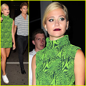 Pixie Lott & Oliver Cheshire Party It Up At Century Club