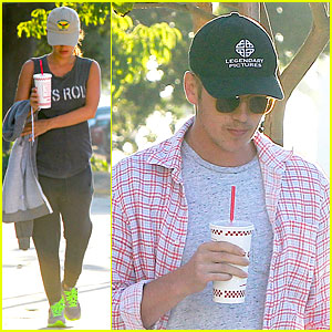 Rachel Bilson & Hayden Christensen Grab a Bite From Five Guys