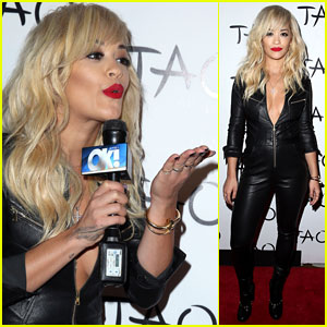 Rita Ora Plays Host at Tao in Las Vegas!