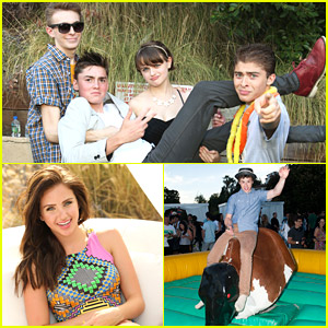 Joey King 'Wishes' You All Were At JJ's Summer Fiesta!