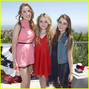 Sabrina Carpenter Sparkles At Radio Disney's Family 4th of July Pool Party Event