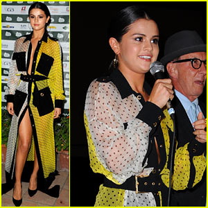 Selena Gomez Shows a Ton of Leg at 'Rudderless' Ischia Screening!