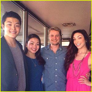 Alex and Maia Shibutani Reunite with Fellow Ice Dancers Meryl Davis & Charlie White