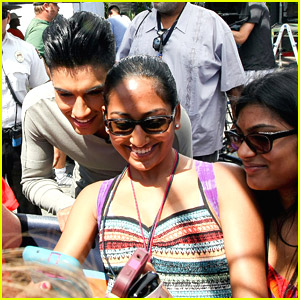 The Wanted's Siva Kaneswaran Continues Taking Over Los Angeles with 'Extra' Stop