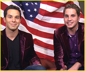 Pitch Perfect 2's Skylar Astin & Ben Platt Wish America A Happy Birthday