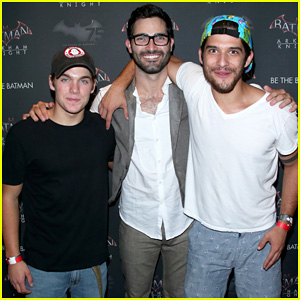 'Teen Wolf' Stars Tyler Posey & Tyler Hoechlin Get Together at Comic-Con for Batman's 75th Anniversary!