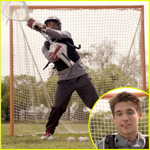 'Teen Wolf' Video Exclusive: Dylan Sprayberry Makes His a Big Entrance as Lacrosse Hottie Liam!