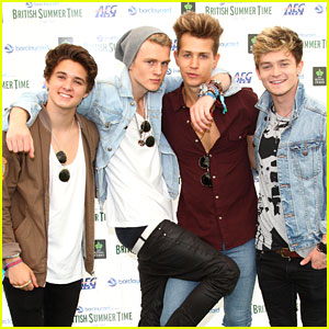 The Vamps Get Pumped for Performance at Barclaycard British Summer Time 2014!