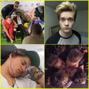 The Vamps Get Silly During Their JJJ Instagram Takeover - See the Pics!