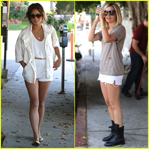 Vanessa Hudgens & Ashley Tisdale's Friendship is Stronger Than Ever, Pair Hits the Hair Salon!