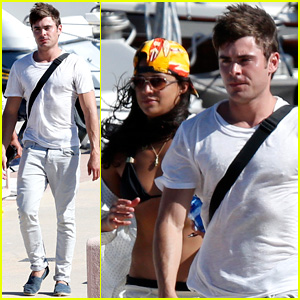 Zac Efron Hits the High Seas in Italy with Michelle Rodriguez!