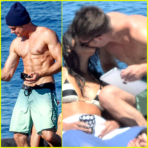 Zac Efron Kisses Michelle Rodriguez - See the Photos!