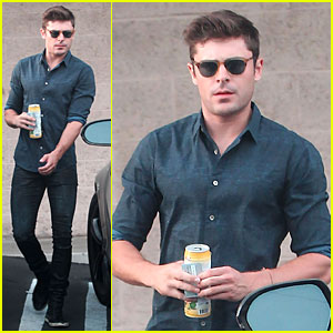 Zac Efron Steps Out After Discussing Addiction on NBC Show