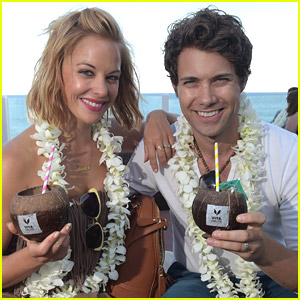 Amy Paffrath & Drew Seeley 'Clink' To VEEV Coconut Colada Launch Event