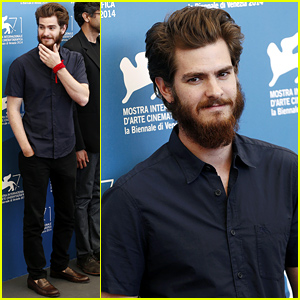 Andrew Garfield Brings His Big Beard to the '99 Homes' Photo Call
