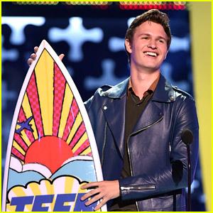 Ansel Elgort WINS Choice Drama Movie Actor at Teen Choice Awards 2014!