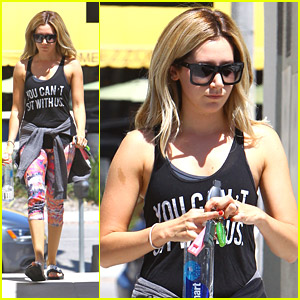 Ashley Tisdale Hits Pilates Class After 'Shark After Dark' Appearance