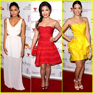 Happyland's Bianca Santos, David Lambert, Paola Andino & More Attend Imagen Awards 2014