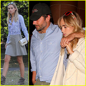 Suki Waterhouse Is All Wrapped Up in Boyfriend Bradley Cooper's Arms