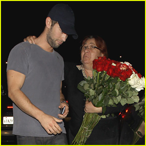 Chace Crawford Opts Not to Buy Flowers After Late Night Out