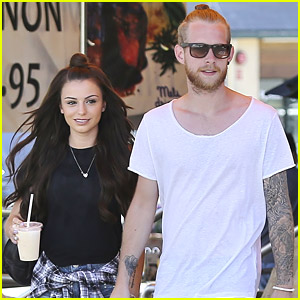 Cher Lloyd Lunches in Los Angeles with Husband Craig