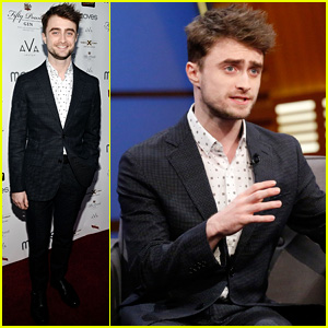 Daniel Radcliffe is Happy to Make People Happy with New Film 'What If' (Video)