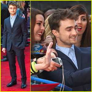 Daniel Radcliffe & Co-Star Jemima Rooper Take 'What If' To London