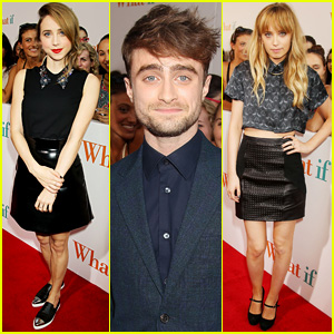 Daniel Radcliffe & Zoe Kazan Bring 'What If' to the Big Apple