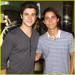 Brothers David & Lorenzo Henrie Hit Up 'Frontera' Premiere