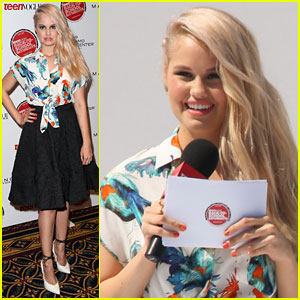 Debby Ryan is the Hostess with the Mostess at Teen Vogue's Back-to-School Saturday!