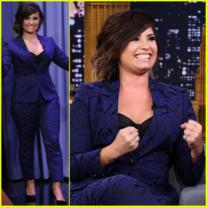 Demi Lovato Gives Some Unqualified Advice on 'Tonight Show Starring Jimmy Fallon' - Watch Here!