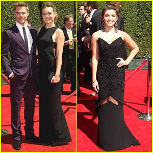 Derek Hough & Amy Purdy Reunite For Creative Arts Emmys 2014