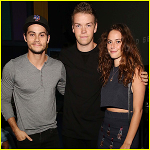 Dylan O'Brien Promotes 'The Maze Runner' in Florida After His 23rd Birthday