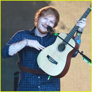 Ed Sheeran Dresses Up Like Broadway Character for 'Jimmy Kimmel Live'