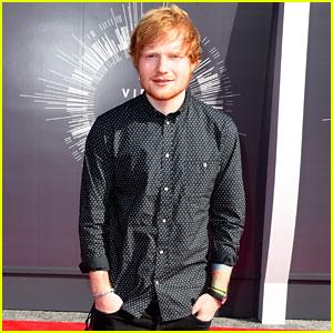 Ed Sheeran Brings His Dark Side to the MTV VMAs 2014!