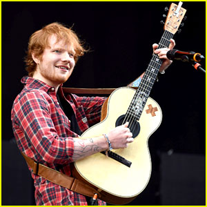 Ed Sheeran Gets Into the Spirit at V Festival!