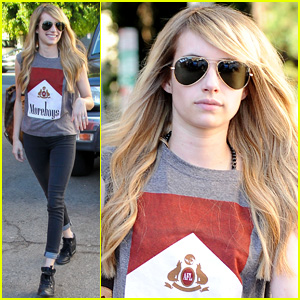 Emma Roberts is Back to Blonde - See Her New Light, Long Locks!