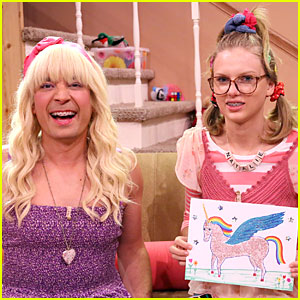 Taylor Swift Channels Natalie in Funny Ew Skit on 'Tonight Show'